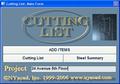 Cutting List 1