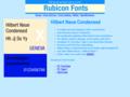 Hilbert Neue Condensed Font Type1 1