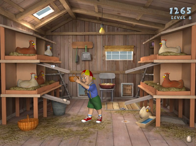 Tom's Hen House Screenshot 1