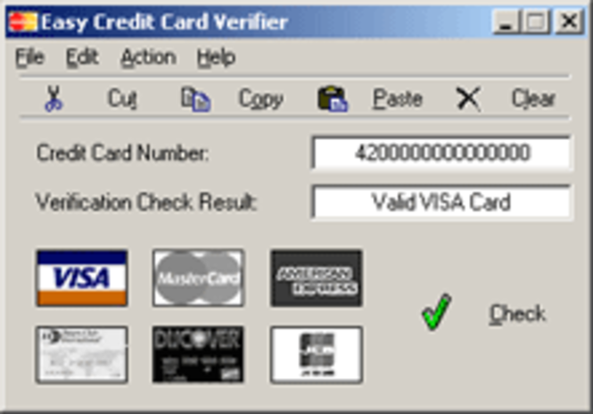 Download easy credit card verifier 113 easy credit card verifier 1 sciox Images