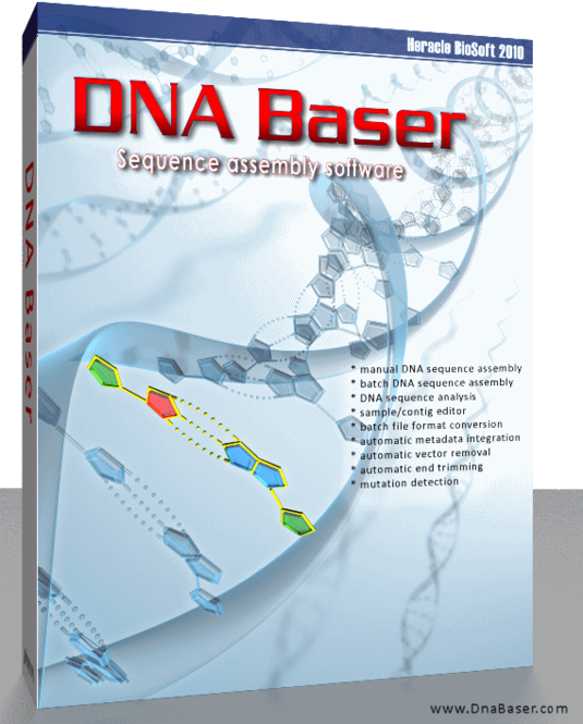 DNA BASER Sequence Assembler Screenshot