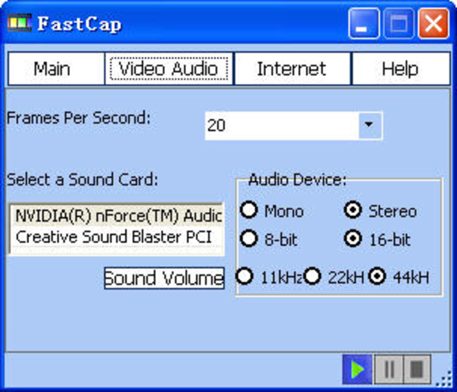 FastCap Mini Screenshot
