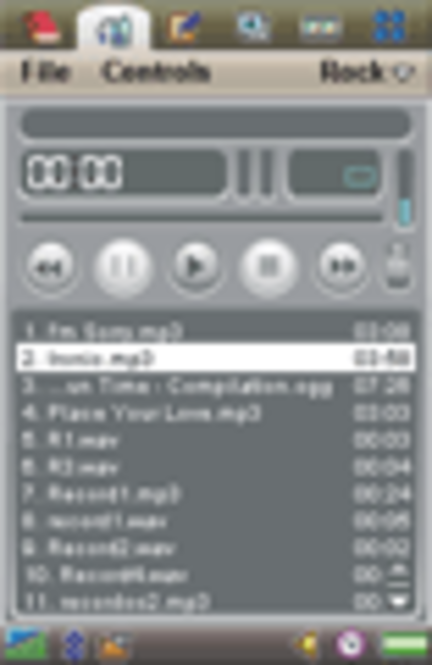 ALON MP3 Player for P910/P900/P800 Screenshot