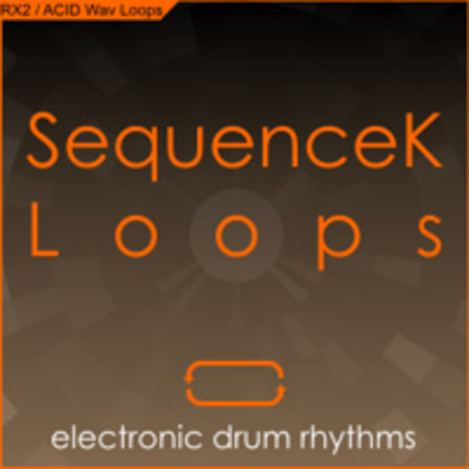 SequenceK Loops - Electronic Drum Rhythms Screenshot