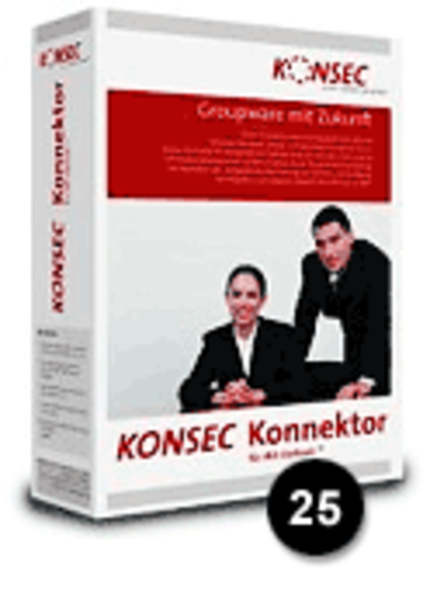 K033 KONSEC Konnektor 25 User Pack incl.  three years Software Maintenance Screenshot