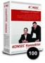 K045 KONSEC Konnektor 100 User Pack incl. five years Software Maintenance 1