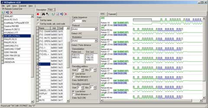 RCExplorer Screenshot