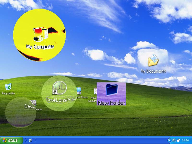 DeskLensExp Screenshot 1