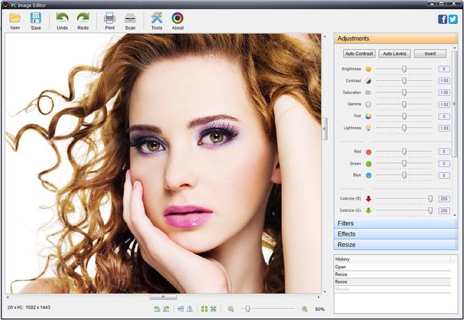 PC Image Editor Screenshot 3