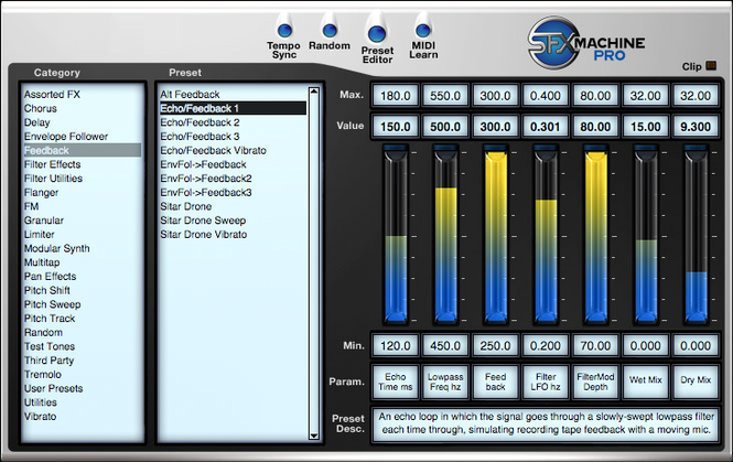 SFX Machine Pro for Windows Screenshot