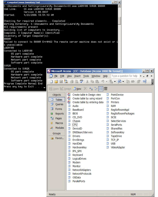 Computer Census Screenshot 1