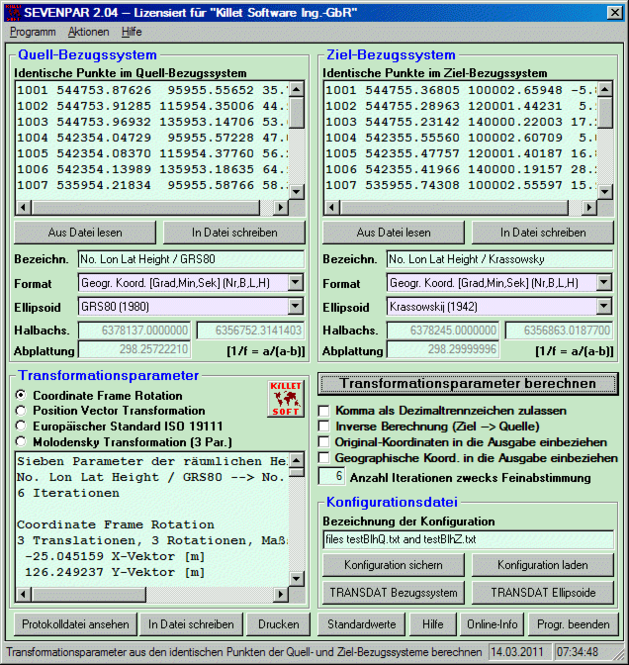 SEVENPAR (Deutsch) Screenshot