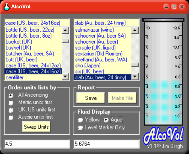 AlcoVol Screenshot 2