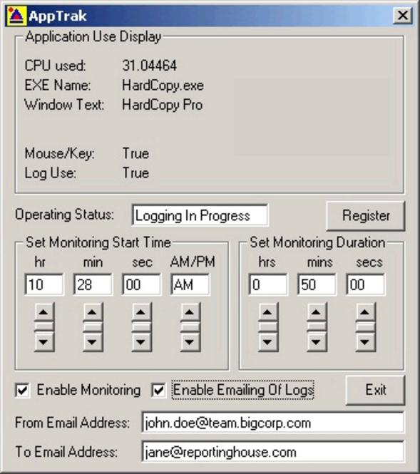 AppTrak Screenshot 1