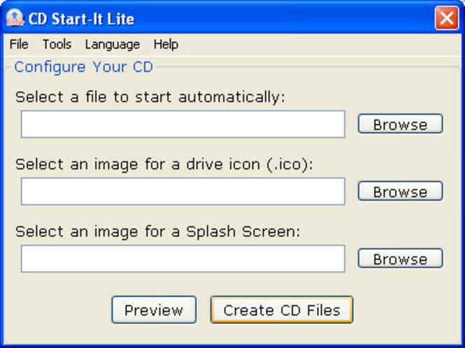 CD Start-It Lite Screenshot 1