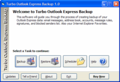 Turbo Outlook Express Backup 1