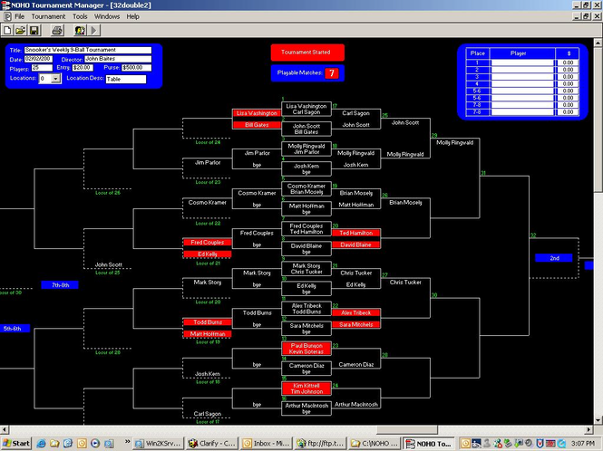 NOHO Tournament Manager Screenshot