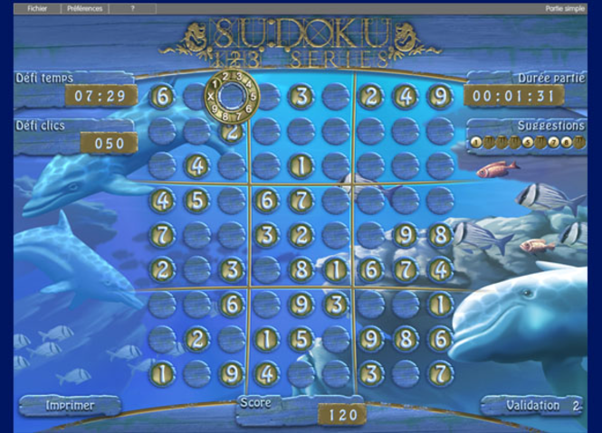 123 Sudoku Series Screenshot