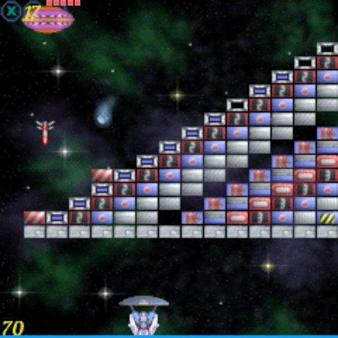 Meteor Breakout (Treo 700w) Screenshot