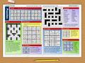 Newspaper Puzzle Challenge 1
