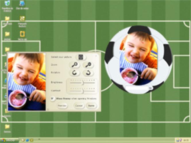 Soccer Frame Screenshot