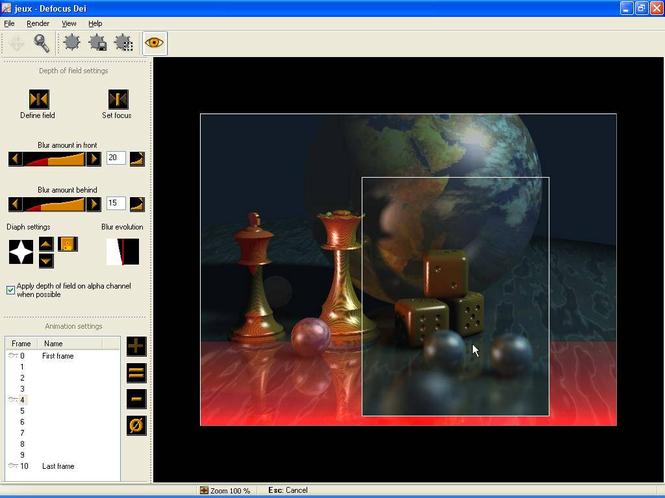 Defocus Dei Screenshot 1