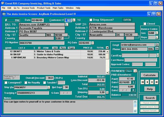 AnyBook V: Publisher's Business Kit Screenshot 1