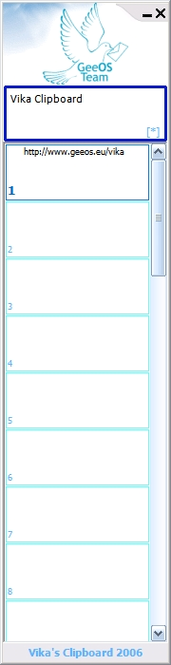 Vika Clipboard Screenshot