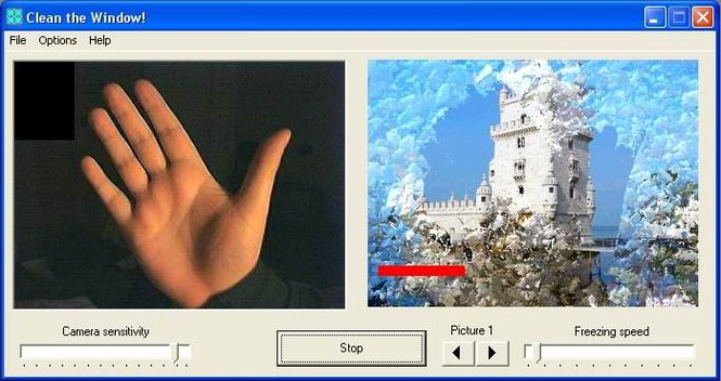Clean the Window! Screenshot