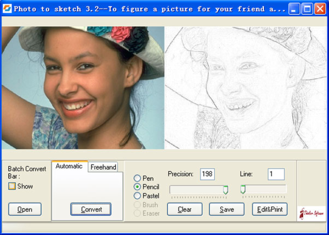 Photo to Sketch Std Screenshot