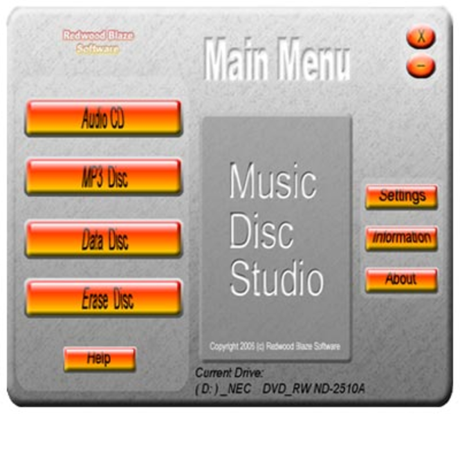 Music Disc Studio Screenshot
