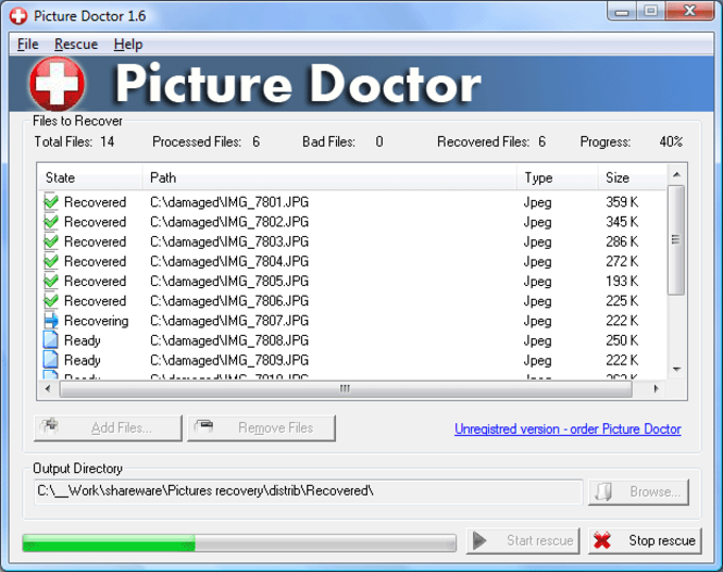Picture Doctor Screenshot 1