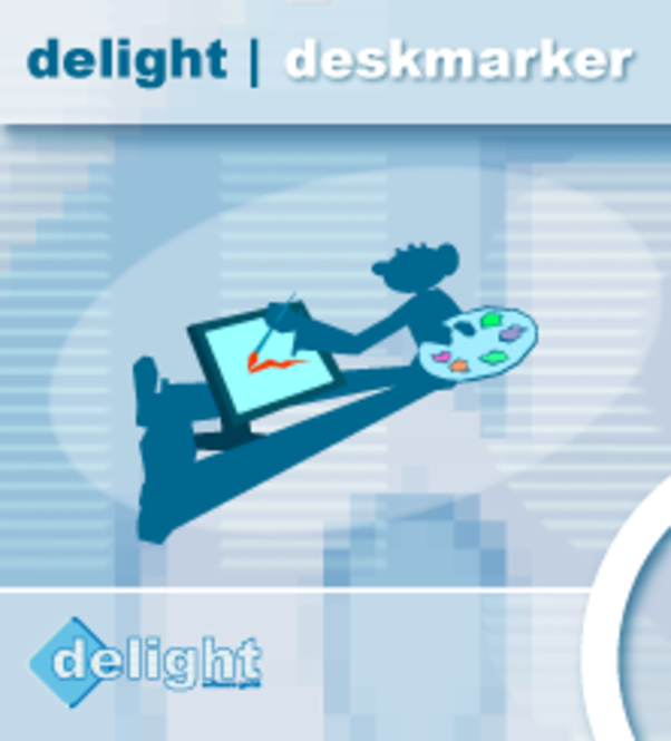 Deskmarker for commercial use Screenshot
