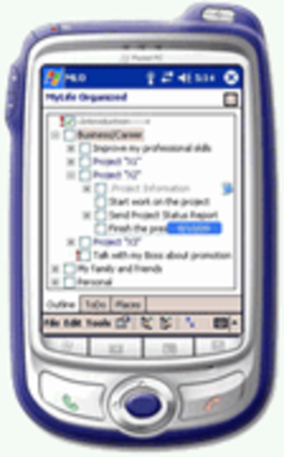 MyLife Organized - PocketPC Screenshot