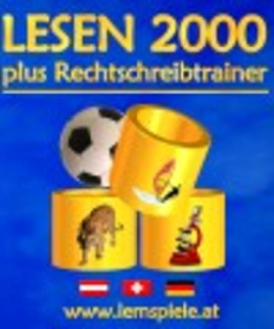 LESEN 2000 plus Rechtschreibtrainer - Ausgabe für Schulen (CD-ROM) Screenshot