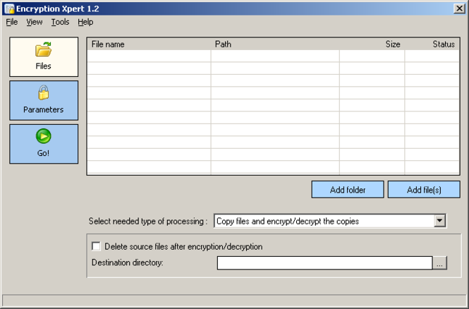 Encryption Xpert Screenshot 1
