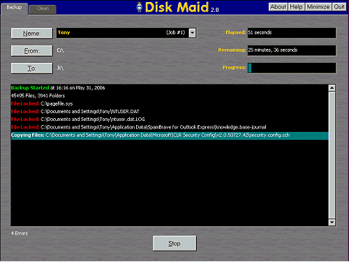 Disk Maid Screenshot