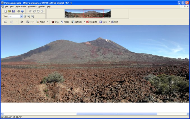 PanoramaStudio Screenshot