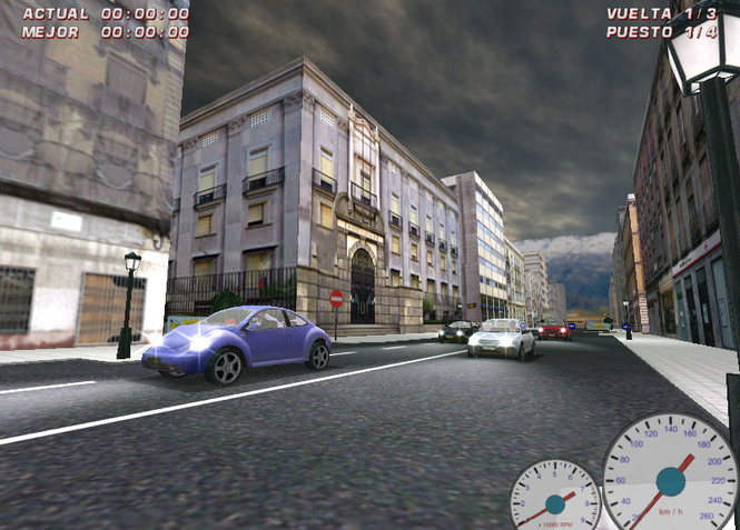 Granada Racer Screenshot