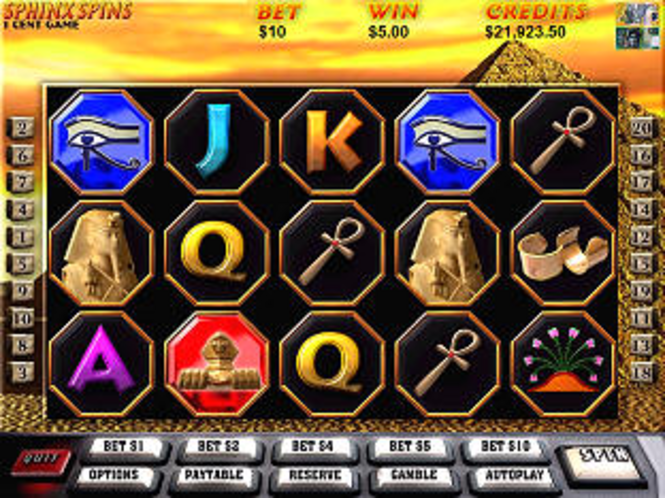Sphinx Spins Slots - Pokies Screenshot