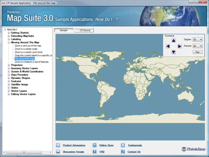 Map Suite Services Edition Screenshot 1