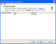 FTP Password Recovery Wizard 1