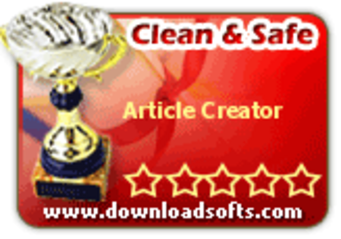 Article Creator Screenshot 1