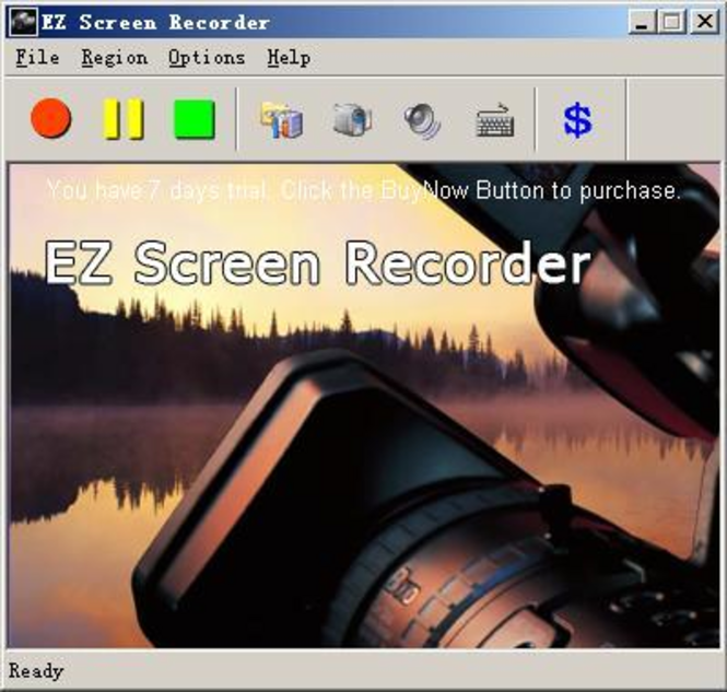 EZ Screen Recorder Screenshot