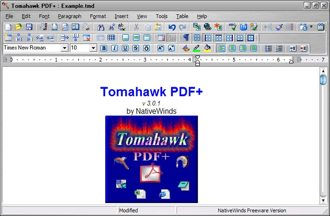 Tomahawk PDF+ Screenshot 1