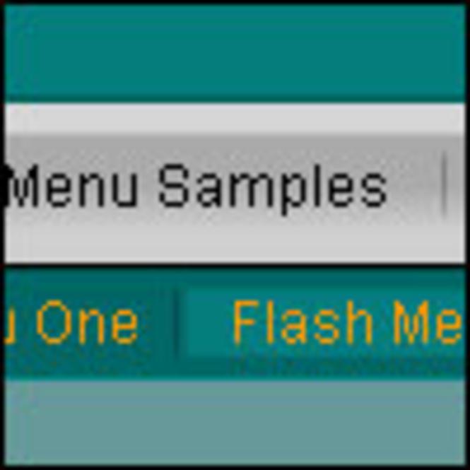 Clix-FX XML Flash Menus Screenshot 1