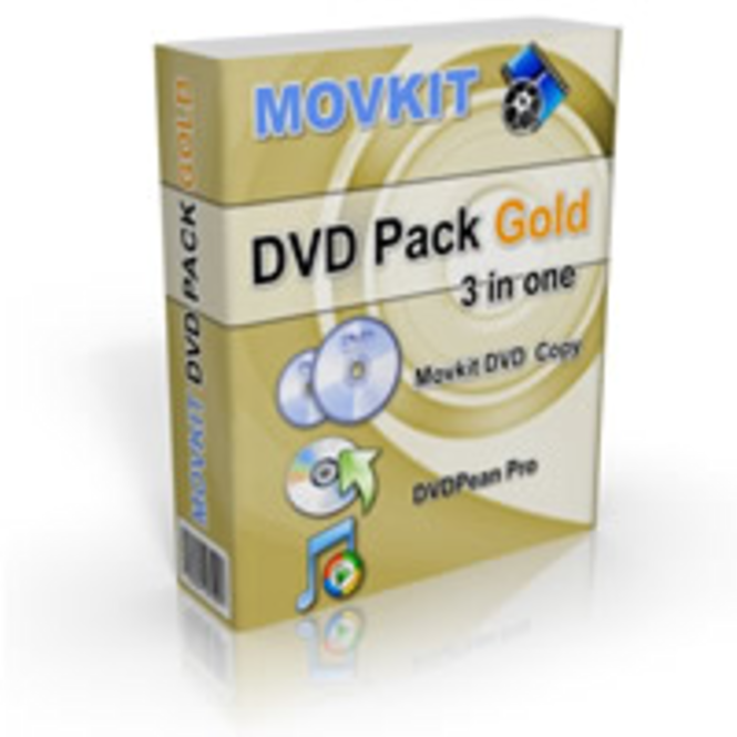 Movkit DVD Pack Gold Screenshot 1