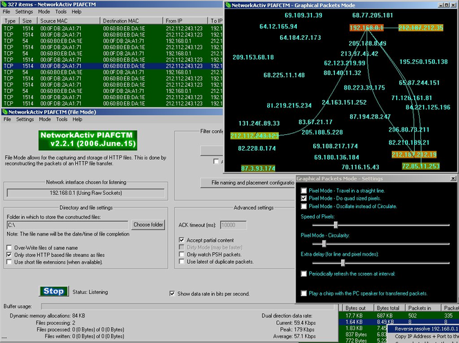 NetworkActiv PIAFCTM Screenshot 1