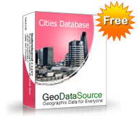 GeoDataSource World Cities Database (Free Edition) Screenshot