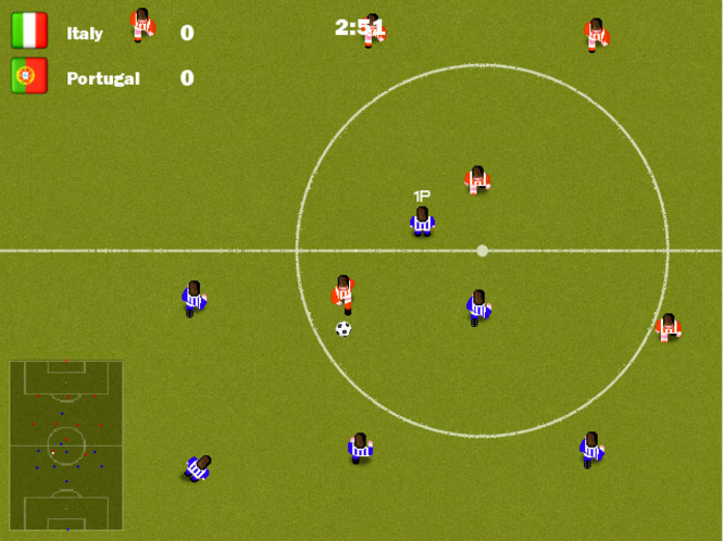 Kickin soccer Screenshot